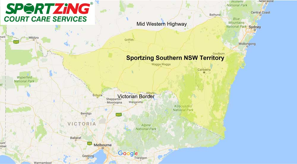 Tennis Court Maintenance Northern NSW Franchise