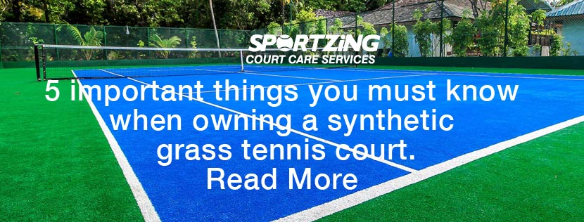 Synthetic Tennis Court Mistakes