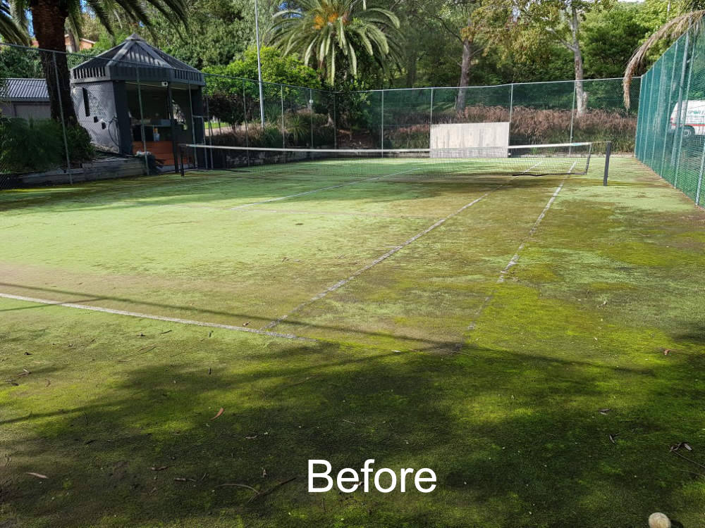 Sportzing Tennis Court Gallery Australia