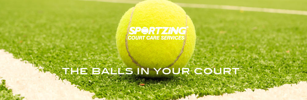 Sportzing Tennis Court Servicing and repairs